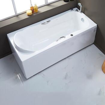 ARROW 箭牌卫浴 AE6206SQ 亚克力防滑按摩浴缸 1.6m 右裙