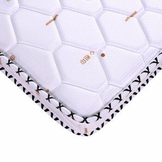 容梦缘床垫硬棕垫薄折叠床垫乳胶椰棕复合椰梦维席梦思床垫子可定做塌塌米 5厘米 针织白+椰棕(促销款) 1.5*2米