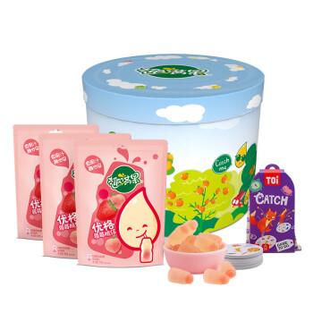Nestlé 雀巢 趣满果系列 桃仔 酸菌风味软糖 100g*3袋
