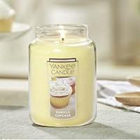 Yankee Candle Company 扬基 香草杯子蛋糕 香薰蜡烛 623g