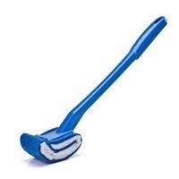 奕辰 清洁死角马桶刷 蓝色 30cm