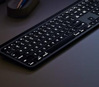 Logitech 罗技 MX Keys for mac 无线蓝牙键盘 Mac版 深空灰