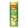 【一口吃N片大挑战】乐事薯片桶装无限翡翠黄瓜味104g李现同款