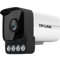 TP-LINK摄像头300万室外监控poe供电全彩夜视高清监控设备套装室外防水摄像机TL-IPC536HP-W 焦距4mm