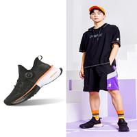 PEAK 匹克 态极2.0 E02617H 中性款运动鞋 黑色/橙色(活力黑橙) 40