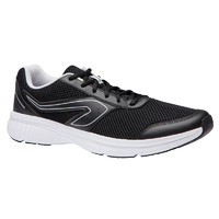DECATHLON 迪卡侬 迪卡侬运动鞋夏季健身轻便男鞋透气防滑网面减震黑色跑步鞋MSWR