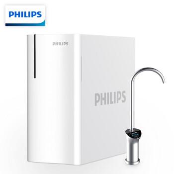 PHILIPS 飞利浦 瀑布系列 3S 反渗透净水器 白色