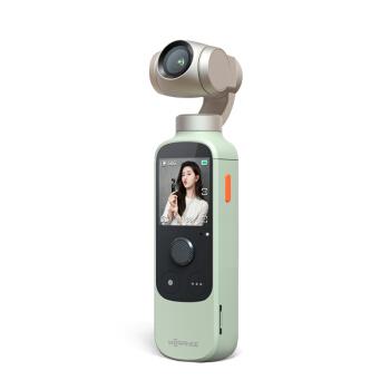 橙影 云台相机 口袋vlog智能摄影机 沁玉绿
