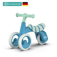 KinderKraft 德国儿童平衡车学步车可坐可滑行防侧翻 蓝色