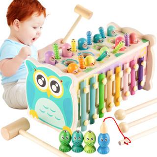福孩儿 FHR6032-5 多功能打地鼠玩具