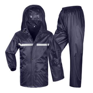 多美忆 雨衣雨裤男女电动车雨衣雨披套装电瓶车摩托车防风分体雨衣 成人款 XXXL码