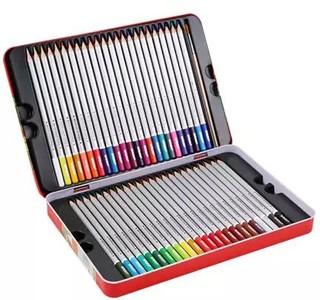 M&G 晨光 AWPQ1904 水溶性彩色铅笔 48色铁盒装 *3件