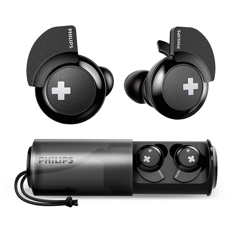 PHILIPS 飞利浦 SHB4385 耳塞式蓝牙耳机 黑色
