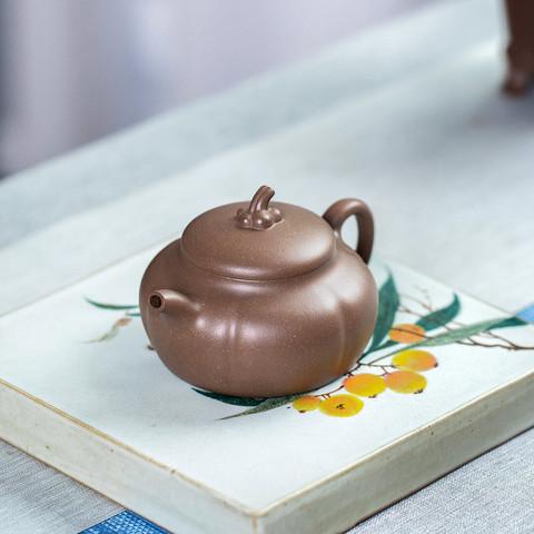 百年利永瓜语壶紫砂壶老段泥