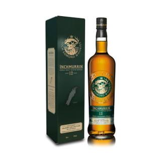 英国迈伦岛(Inchmurrin)洋酒 12年 高地产区 苏格兰进口单一麦芽威士忌 700ml