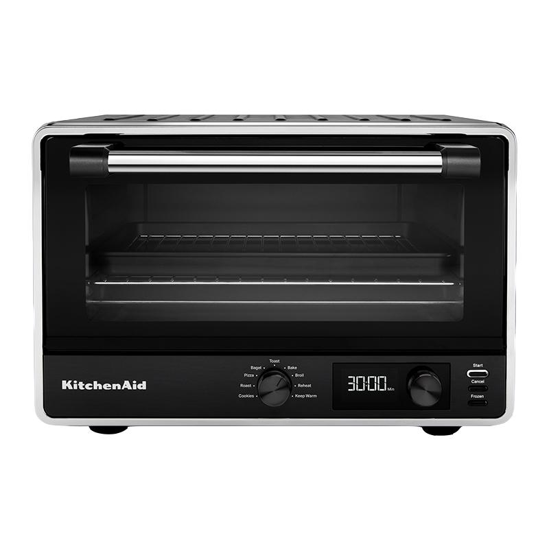 KitchenAid 凯膳怡 5KCO211CBM 小型多功能电烤箱 21L 黑色