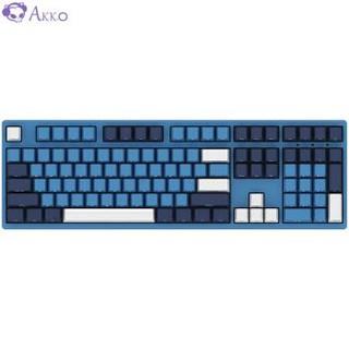 AKKO 3108SP海洋之星 全尺寸机械键盘 Cherry樱桃轴 有线游戏键盘 青轴
