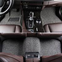 恒卡 加厚五座丝圈脚垫 2020款蔚来ES6车型定制 黑灰色
