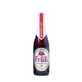 Fruli 芙力 草莓酒 比利时精酿啤酒 进口啤酒 女士水果酒330ml*1