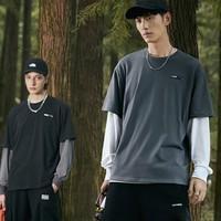 PEACEBIRD MEN 太平鸟 CORDURA黑科技 BWDAA3370 男士短袖T恤