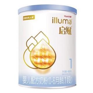 Wyeth 惠氏 亲和人体婴儿配方奶粉 1段 400g
