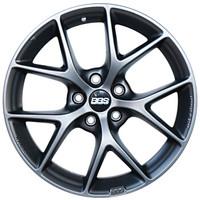 BBS SR款式輪轂 德國原裝進口 8*18英寸 亞光鈦色 奔馳/寶馬/奧迪/福特/捷豹/路虎極光/沃爾沃 訂閱