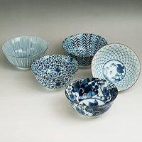 西海陶器 多功能碗 直径15.5厘米5件套