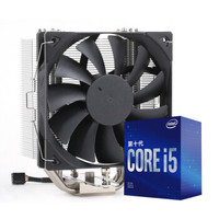 Intel 英特尔 i5-10400F 盒装CPU处理器+雅浚ProArtist G3 CPU散热器套装
