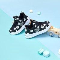 巴拉巴拉旗下梦多多春季新款儿童鞋运动鞋熊猫波点女童运动鞋
