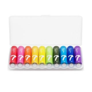 ZMI 紫米 彩虹 7号 碱性电池 10粒装
