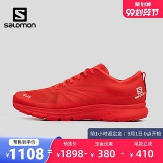 预售-salomon萨洛蒙运动鞋城市路跑鞋专业竞赛小红鞋网面透气休闲