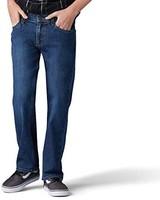Lee 大男孩直筒牛仔裤
