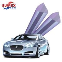 SUNREX 賽雷斯 炫彩紫光 汽車貼膜 四門+后擋
