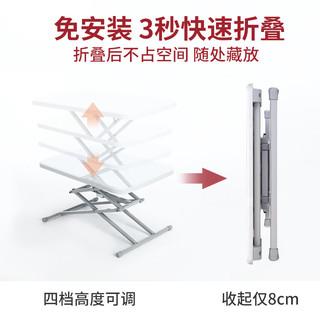 折叠桌升降桌摆摊阳台小桌子折叠餐桌家用升降台户外便携方桌饭桌