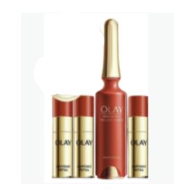 玉兰油(OLAY)小红弹4ml*4精华液面部精华女士护肤品日本进口提拉紧致淡化细纹熬夜修护抗氧化礼物