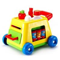 AUBY 澳贝 463314DS 手指总动员 婴儿爬行推车 +凑单品