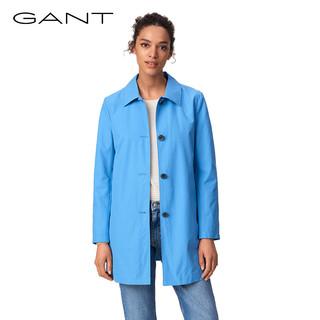 GANT 甘特 4750012 女士时尚休闲净色长款风衣