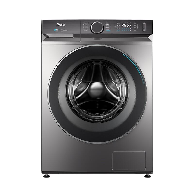 Midea 美的 新爱尚系列 MG100V90WIADY 滚筒洗衣机 10kg 银色