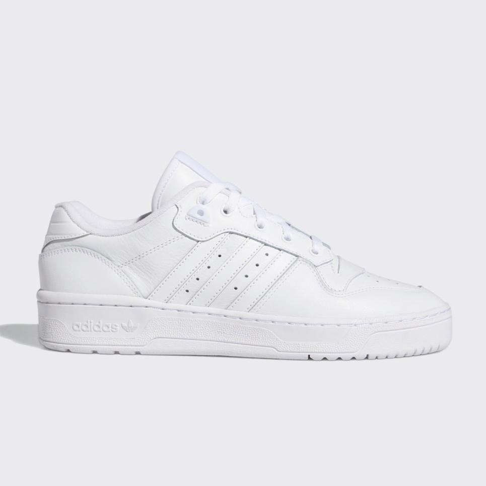 adidas 阿迪达斯 RIVALRY LOW EF8729 男女经典运动鞋 亮白 44