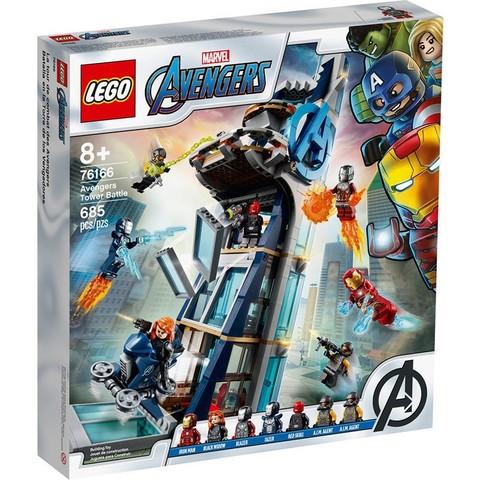 黑卡会员:LEGO 乐高  超级英雄 76166 复仇者联盟大厦