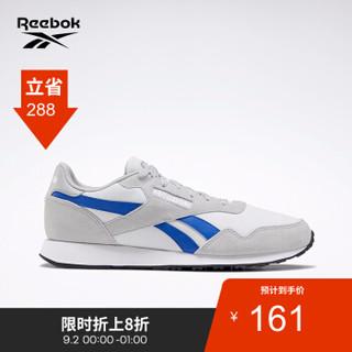 Reebok锐步运动经典男子休闲鞋 ROYAL ULTRA低帮经典复古鞋EF7669 EF7669_灰色/蓝色 42