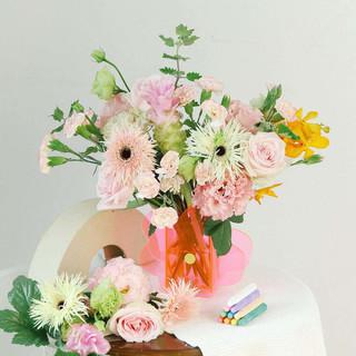 FlowerPlus 花加 教师节限定主题花礼 春雨 粉色系 9月9日收花