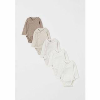H&M 0814306 婴儿连体衣2 5件装