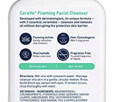 CeraVe Foaming Facial 泡沫洁面乳 355ml