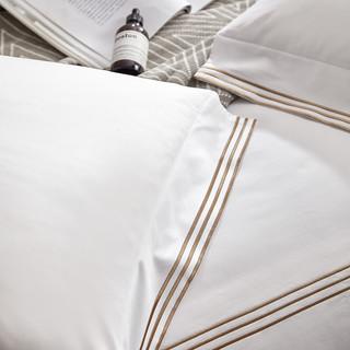 康尔馨 100支纯棉四件套 1.8m 灰色