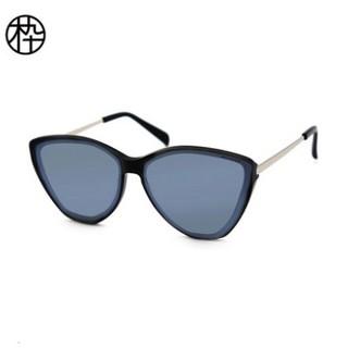 MUJOSH 木九十 MJ101SF701 个性三角形太阳眼镜