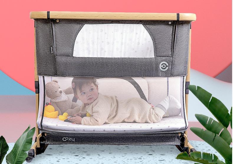 elittile 逸乐途 婴儿床便携式可折叠 单层