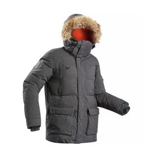 DECATHLON 迪卡侬 ARCTIC 100 户外羽绒大衣 15476-8343842 灰色 L