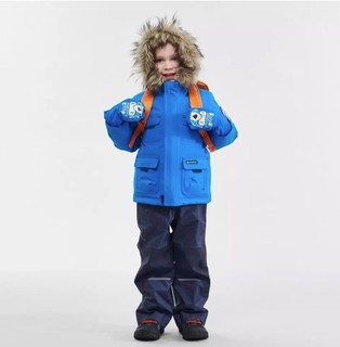 DECATHLON 迪卡侬 QUECHUA ARP900 儿童保暖防水夹克 8504401 蓝色 100/52