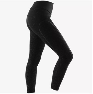 DECATHLON 迪卡侬 女士健身裤 303140-8518636 黑色 XS